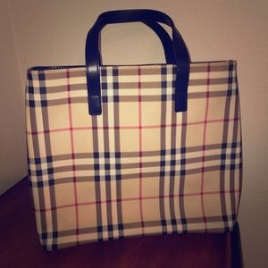 Authentic Burberry Handle Bag
